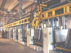 _ Refrigerator Automated Assembly Line , 6station Cabinet Foaming Lines