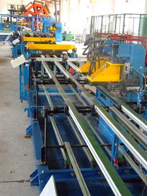 _ U-bending Freezer / Refrigerator Automated Assembly Line Roll Forming Lines