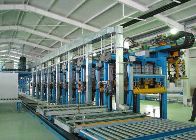 _ Cabinet Foaming Line Automatical For Refrigerator Assembly Line With Long Life , Speed Adjustable